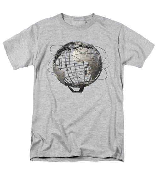 1964 World's Fair Unisphere Men's T-Shirt  (Regular Fit) by Bob Slitzan