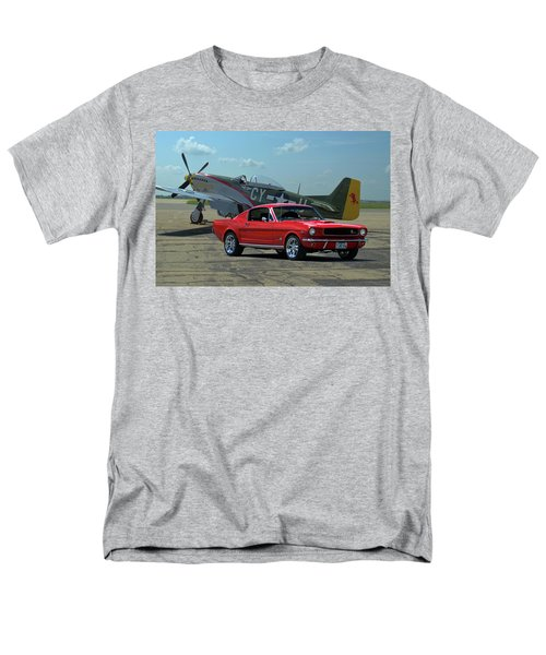 1965 Mustang Fastback Men's T-Shirt  (Regular Fit) by Tim McCullough