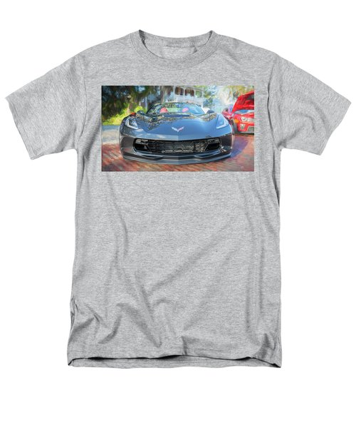 Men's T-Shirt  (Regular Fit) featuring the photograph 2017 Chevrolet Corvette Gran Sport  by Rich Franco
