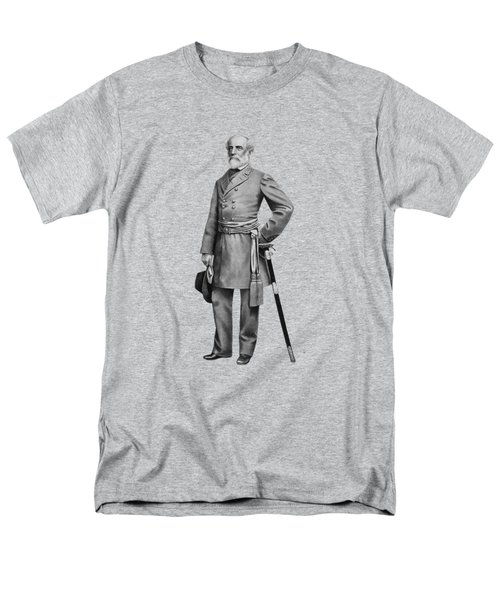 General Robert E. Lee Men's T-Shirt  (Regular Fit) by War Is Hell Store