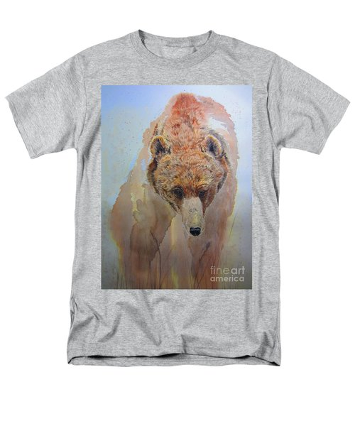 Men's T-Shirt  (Regular Fit) featuring the painting Grizzly by Laurianna Taylor