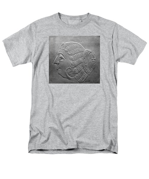 Men's T-Shirt  (Regular Fit) featuring the relief Head by Suhas Tavkar