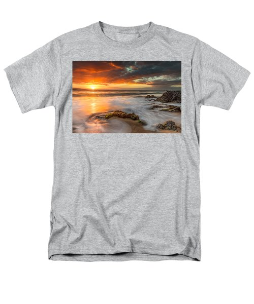 Poolenalena Sunset Men's T-Shirt  (Regular Fit)