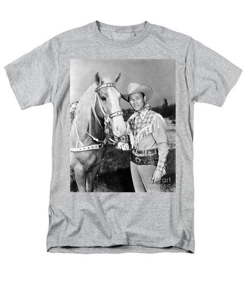 Roy Rogers Men's T-Shirt  (Regular Fit) by Granger