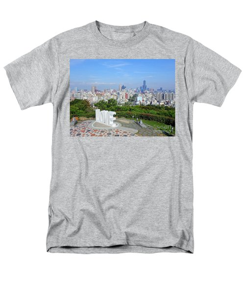 View Of Kaohsiung City Men's T-Shirt  (Regular Fit) by Yali Shi