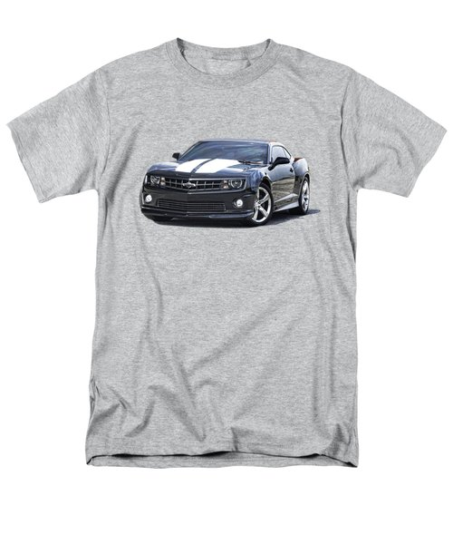 Men's T-Shirt  (Regular Fit) featuring the photograph 2010 Camaro S S R S by Jack Pumphrey