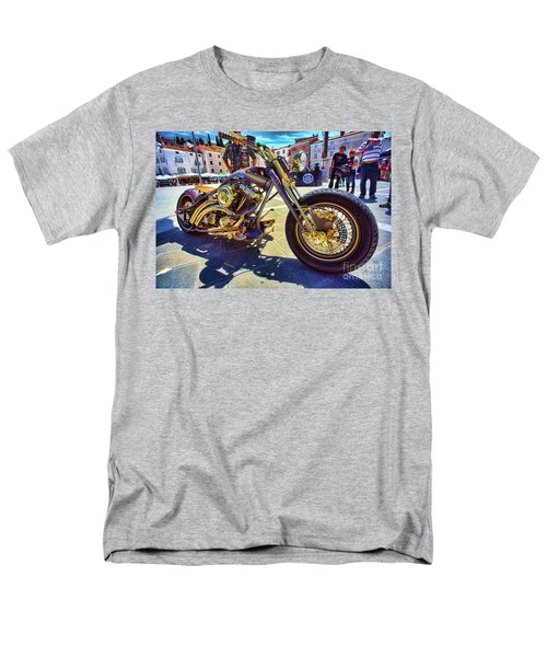 2016 Custom Harley Winner Men's T-Shirt  (Regular Fit) by Graham Hawcroft pixsellpix