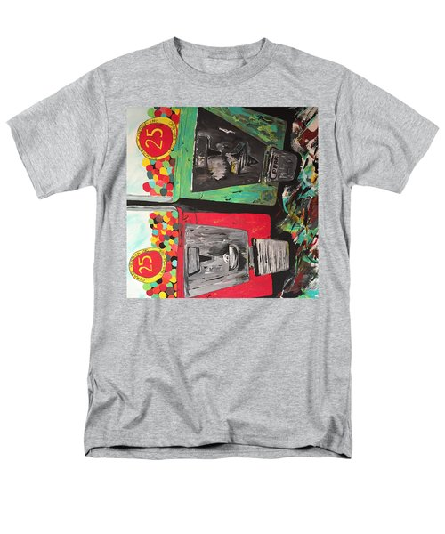 Men's T-Shirt  (Regular Fit) featuring the painting 25cts by Olivier Calas