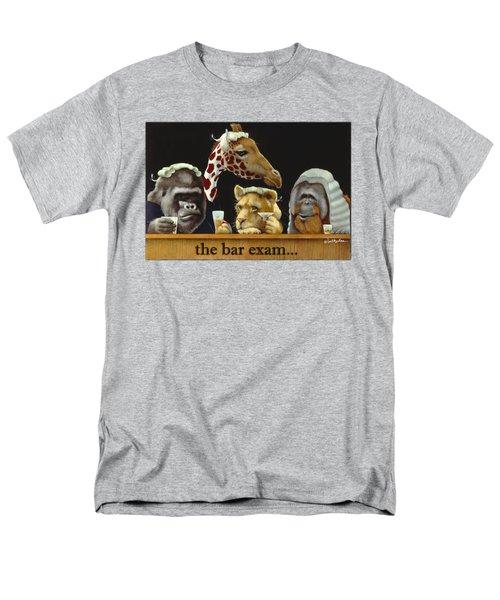Bar Exam... Men's T-Shirt  (Regular Fit) by Will Bullas