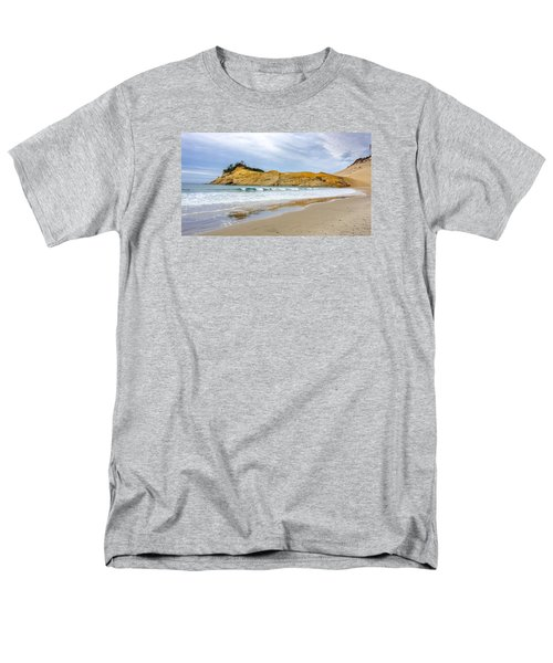 Men's T-Shirt  (Regular Fit) featuring the photograph Cape Kiwanda by Jerry Cahill
