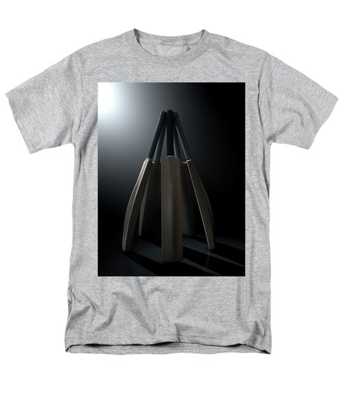 Cricket Back Circle Dramatic Men's T-Shirt  (Regular Fit) by Allan Swart