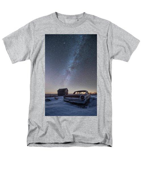 3 Galaxies  Men's T-Shirt  (Regular Fit)