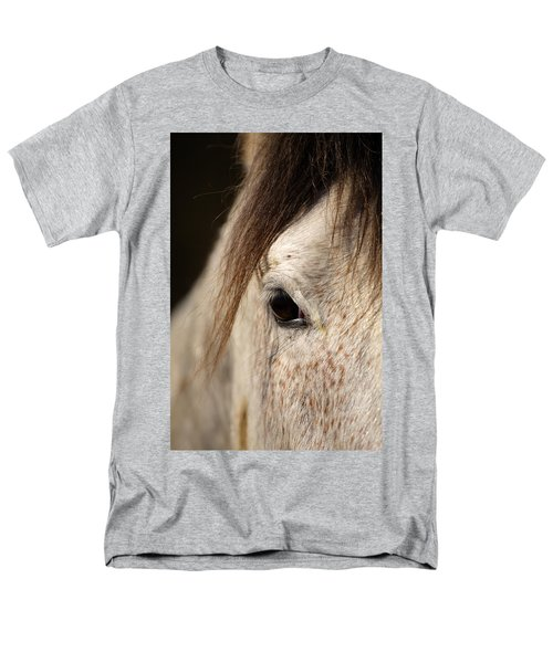 Horse Portrait Men's T-Shirt  (Regular Fit) by Ian Middleton