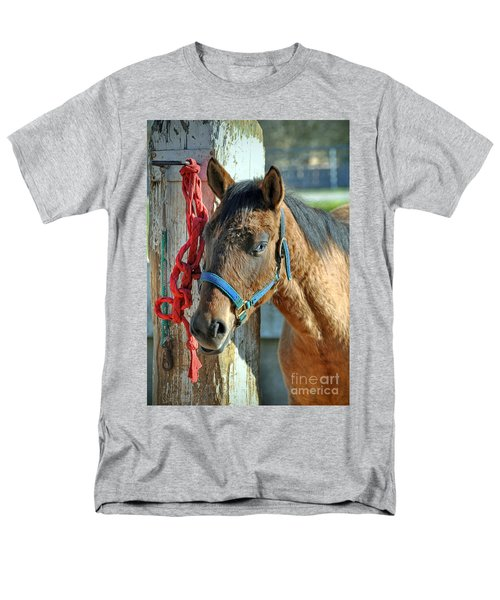 Horse Men's T-Shirt  (Regular Fit) by Savannah Gibbs