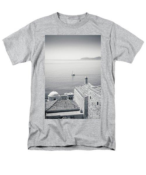Monemvasia / Greece Men's T-Shirt  (Regular Fit) by Stavros Argyropoulos