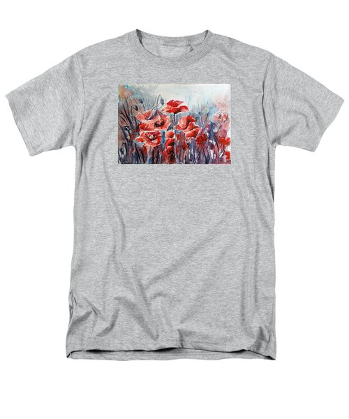 Poppies Men's T-Shirt  (Regular Fit)