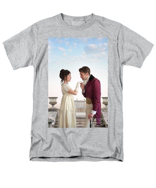 Regency Couple  Men's T-Shirt  (Regular Fit) by Lee Avison