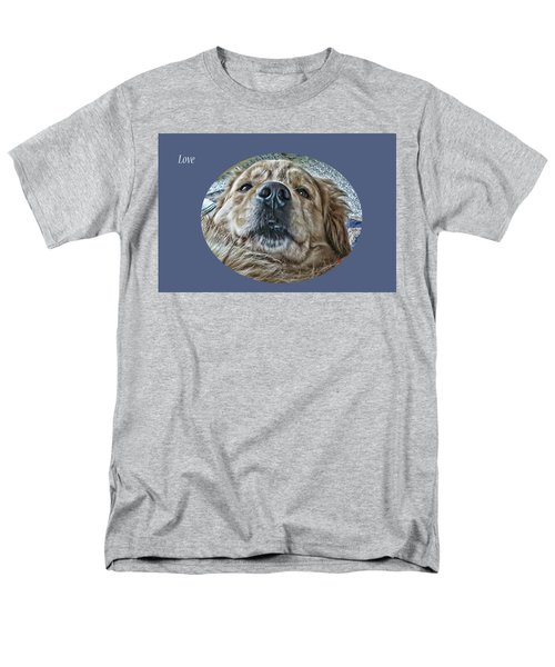 Love Men's T-Shirt  (Regular Fit) by Rhonda McDougall