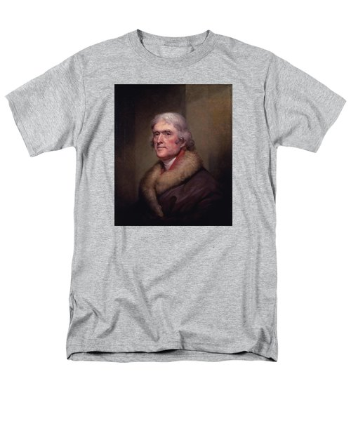 President Thomas Jefferson Men's T-Shirt  (Regular Fit) by War Is Hell Store