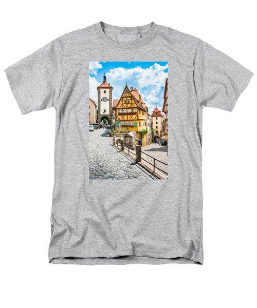 Rothenburg Ob Der Tauber Men's T-Shirt  (Regular Fit) by JR Photography