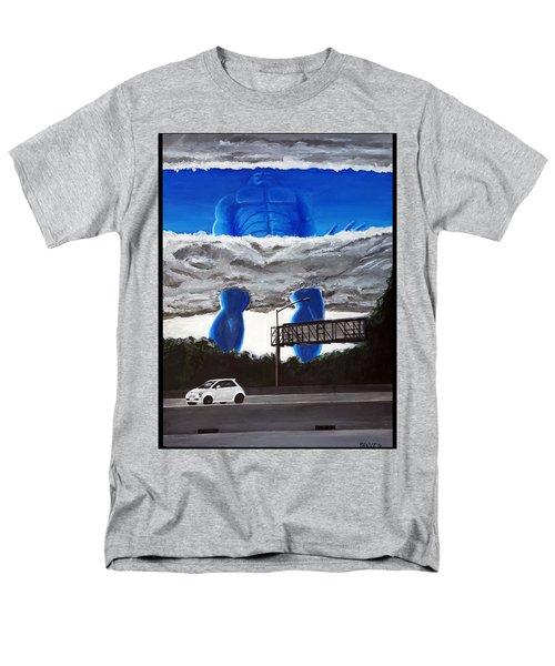 405 N. At Roscoe Men's T-Shirt  (Regular Fit) by Chris Benice