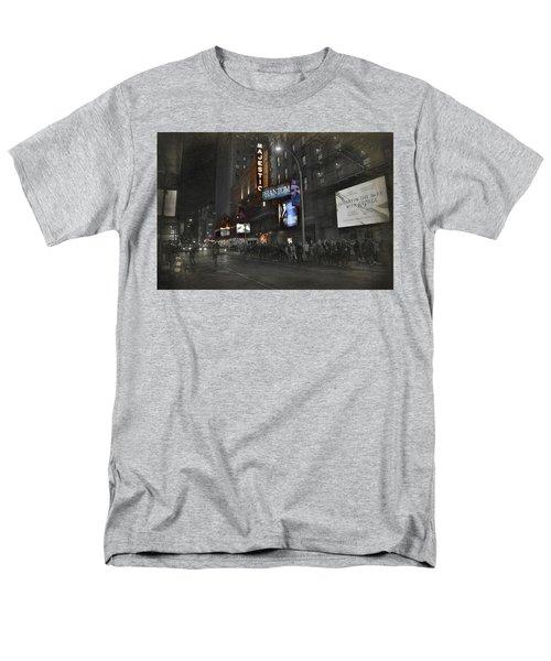 44th Street Nyc Men's T-Shirt  (Regular Fit) by Dyle Warren