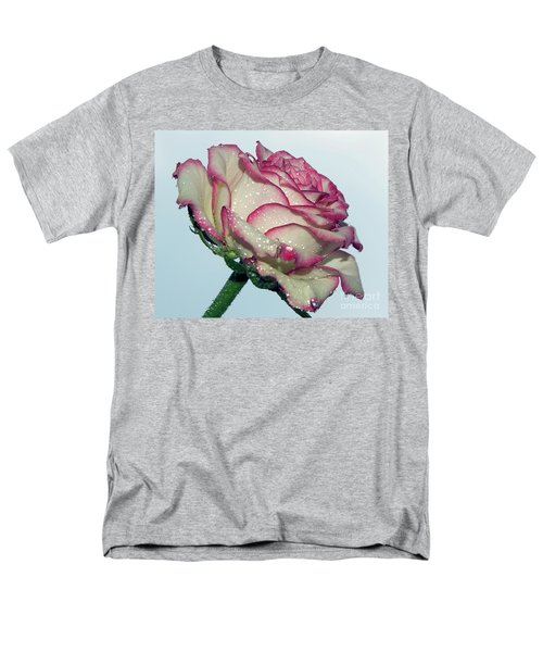 Beautiful Rose Men's T-Shirt  (Regular Fit) by Elvira Ladocki