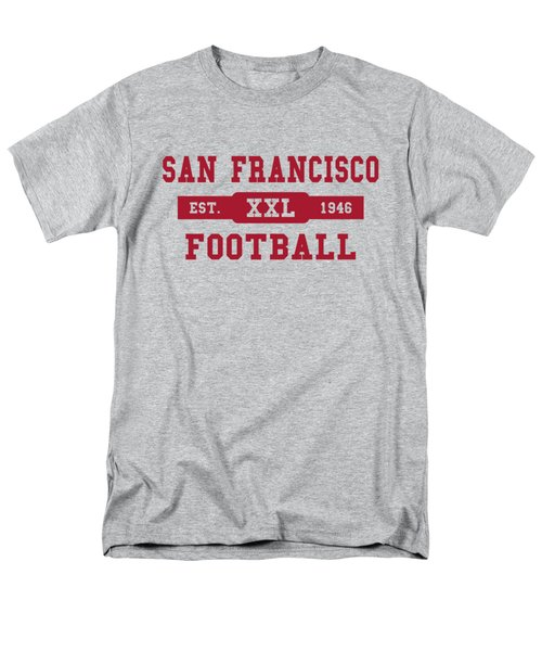 49ers Retro Shirt Men's T-Shirt  (Regular Fit) by Joe Hamilton