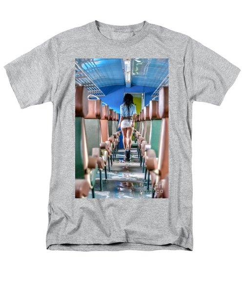 Take A Litte Trip Men's T-Shirt  (Regular Fit) by Traven Milovich