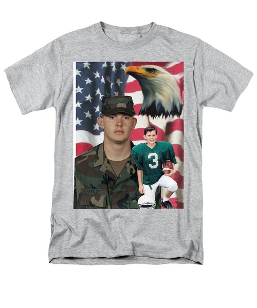 Texas Hero Men's T-Shirt  (Regular Fit) by Ken Pridgeon
