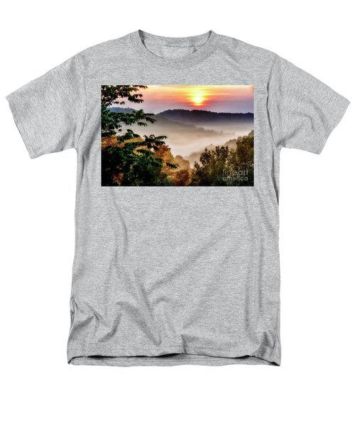 Mountain Sunrise Men's T-Shirt  (Regular Fit) by Thomas R Fletcher