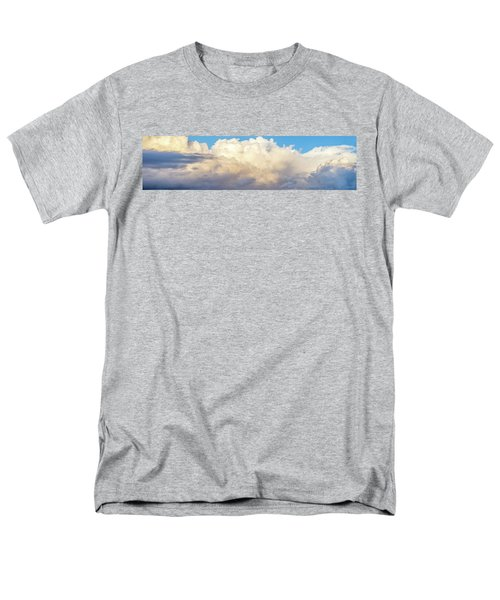 Men's T-Shirt  (Regular Fit) featuring the photograph Clouds by Les Cunliffe