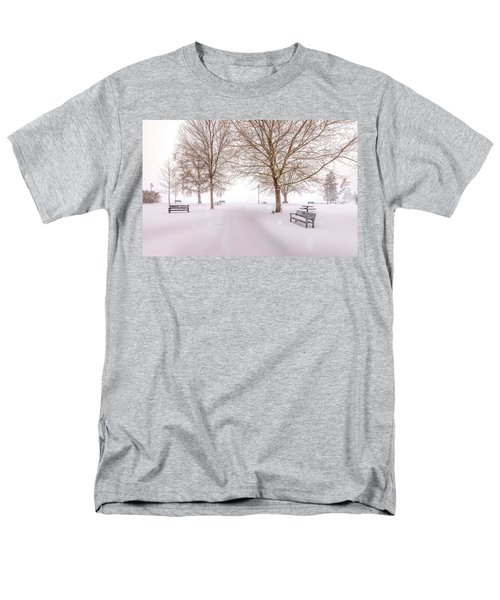 A Beautiful Winter's Morning  Men's T-Shirt  (Regular Fit) by John Poon