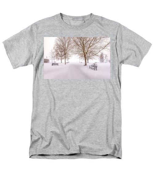 A Beautiful Winter's Morning  Men's T-Shirt  (Regular Fit) by John Poon