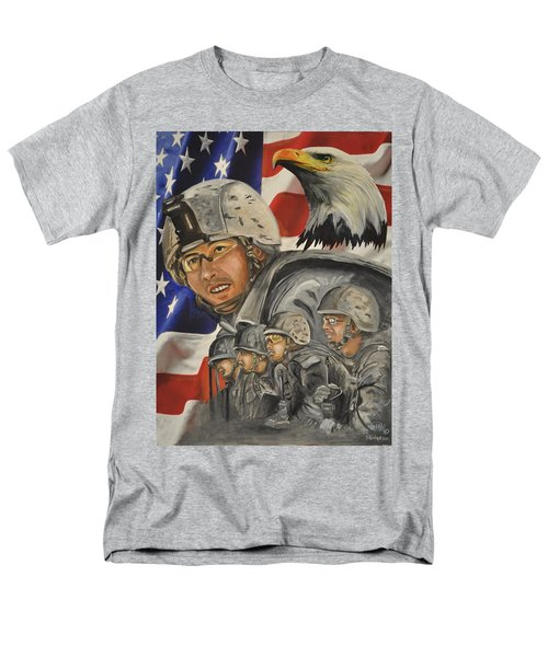 A Day At Work Men's T-Shirt  (Regular Fit) by Ken Pridgeon