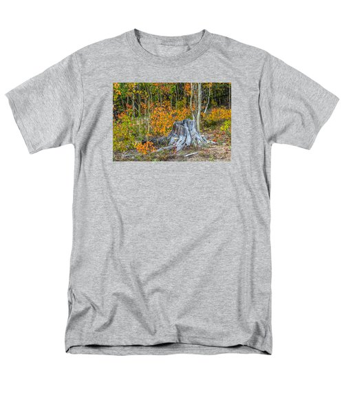A Forest Of Color Men's T-Shirt  (Regular Fit) by Stephen  Johnson
