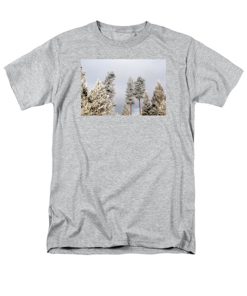 A Frosty Morning 2 Men's T-Shirt  (Regular Fit) by Janie Johnson