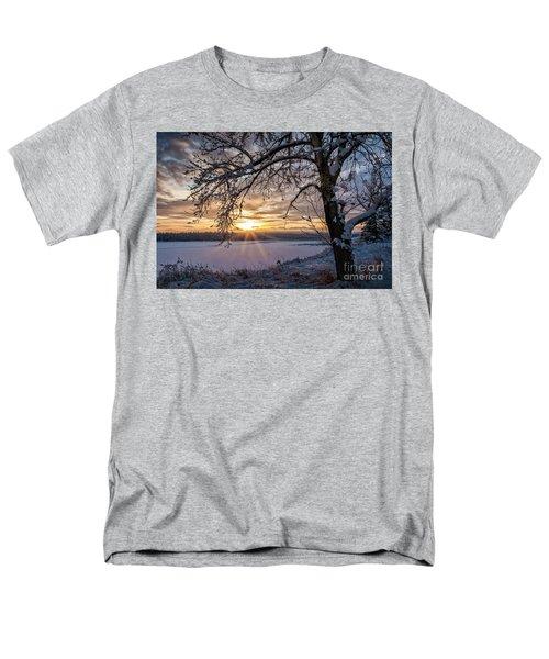 A Glenmore Sunset Men's T-Shirt  (Regular Fit) by Brad Allen Fine Art
