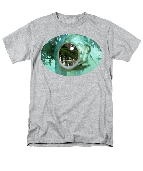 Men's T-Shirt  (Regular Fit) featuring the photograph A Limited Point Of View by Ethna Gillespie