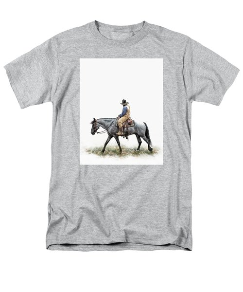 A Long Day On The Trail Men's T-Shirt  (Regular Fit) by David and Carol Kelly