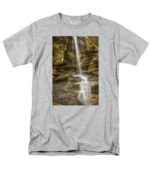 A Look At Window Falls Men's T-Shirt  (Regular Fit) by Bob Decker