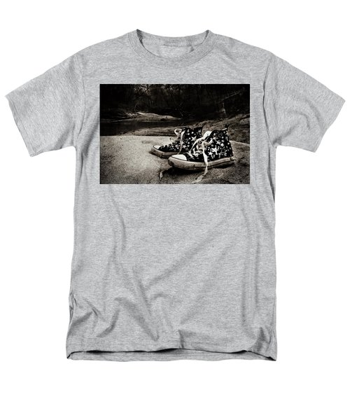 Men's T-Shirt  (Regular Fit) featuring the photograph A Mile In My Shoes by Jessica Brawley