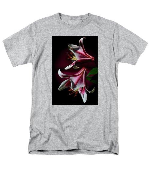 A Pair Of Lilies Men's T-Shirt  (Regular Fit) by Judy  Johnson