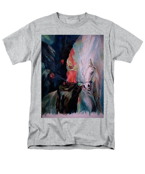 A Rider Men's T-Shirt  (Regular Fit) by Khalid Saeed