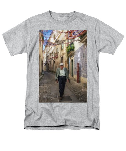 Men's T-Shirt  (Regular Fit) featuring the photograph A Stoll In Coimbra by Patricia Schaefer