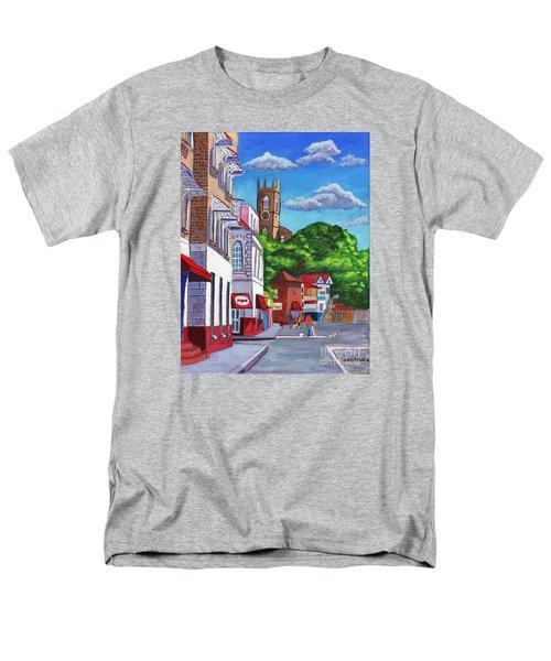 A Stroll On Melville Street Men's T-Shirt  (Regular Fit)