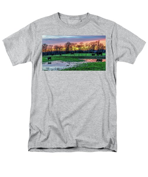 A Time For Reflection Men's T-Shirt  (Regular Fit) by Jeffrey Friedkin