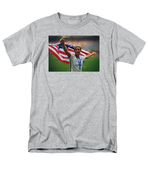 Abby Wambach Us Soccer Men's T-Shirt  (Regular Fit) by Semih Yurdabak
