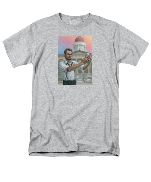 Abe's 1st Selfie Men's T-Shirt  (Regular Fit) by Jane Bucci