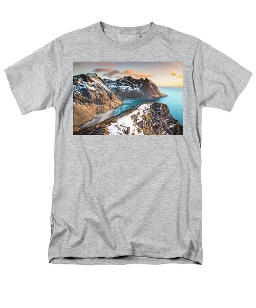 Above The Beach Men's T-Shirt  (Regular Fit)
